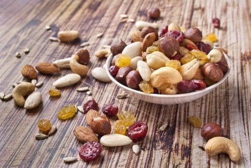 Dieta con frutos secos para adelgazar