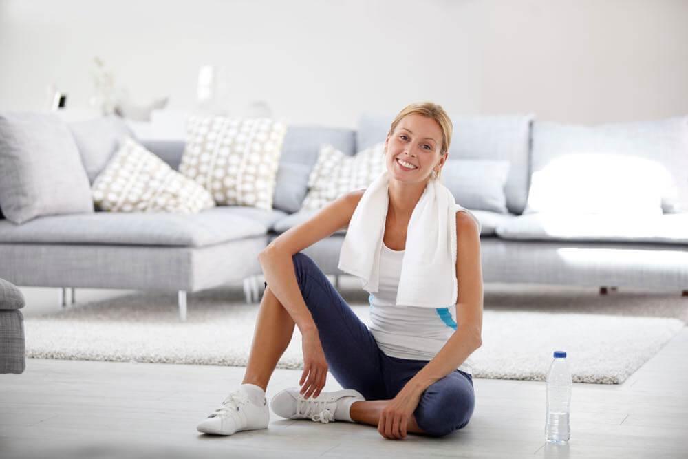 Mejor rutina de ejercicios para realizar en casa