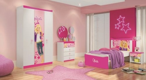 habitacion barbie