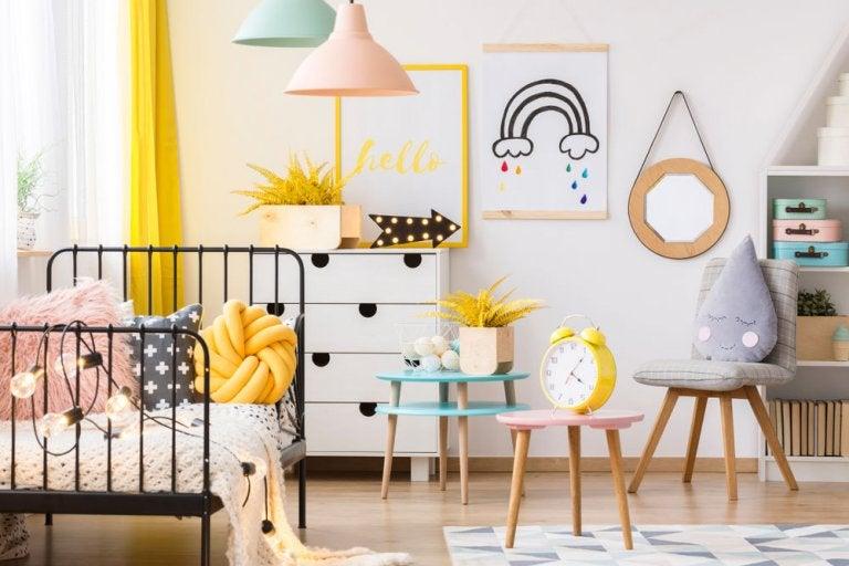 Ideas para decorar la habitación para tu niña