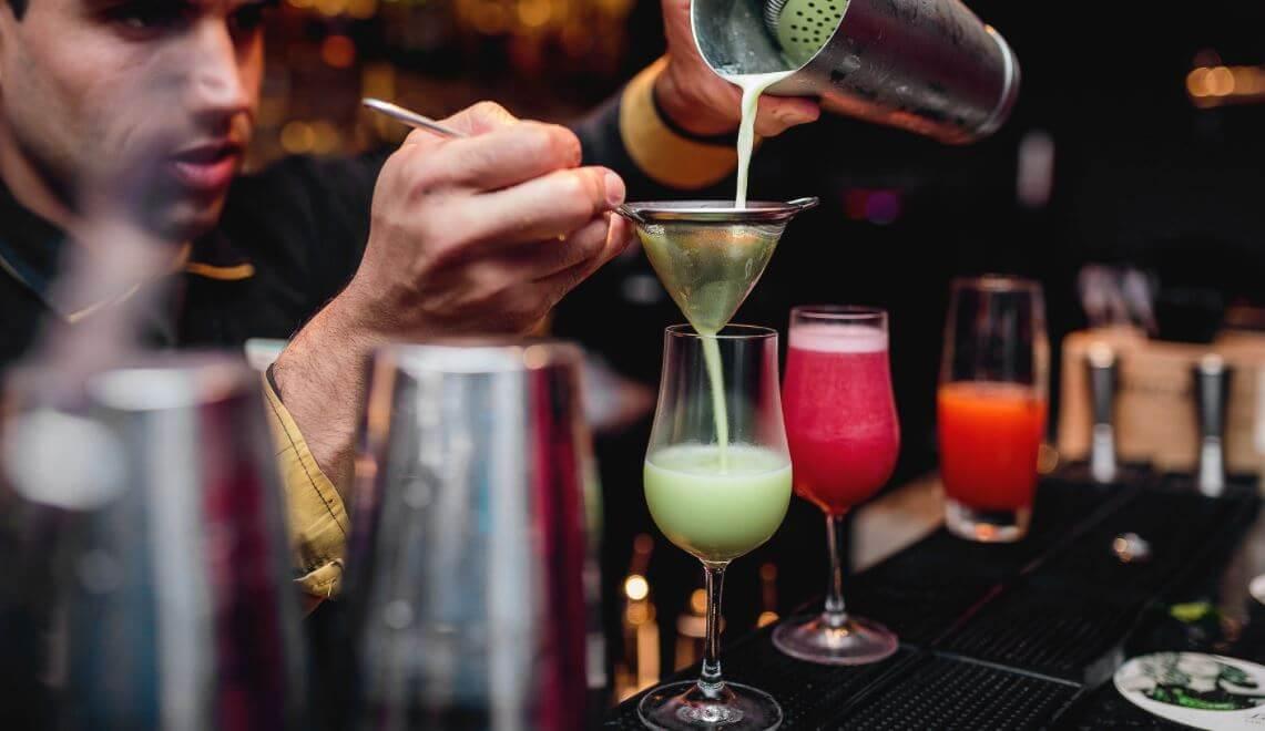 Cinco maneras de preparar cócteles