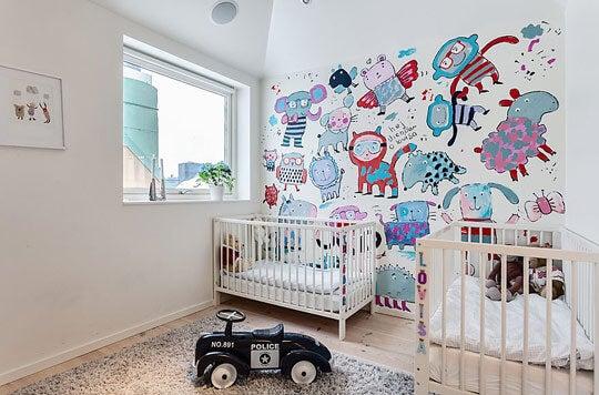 Ideas para habitación de gemelos.