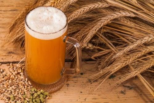 Levadura de cerveza para la dermatitis seborreica