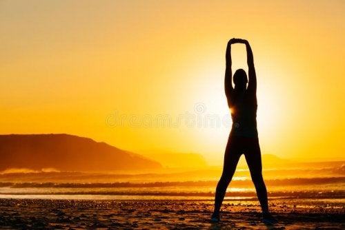 4 ejercicios de un estiramiento correcto