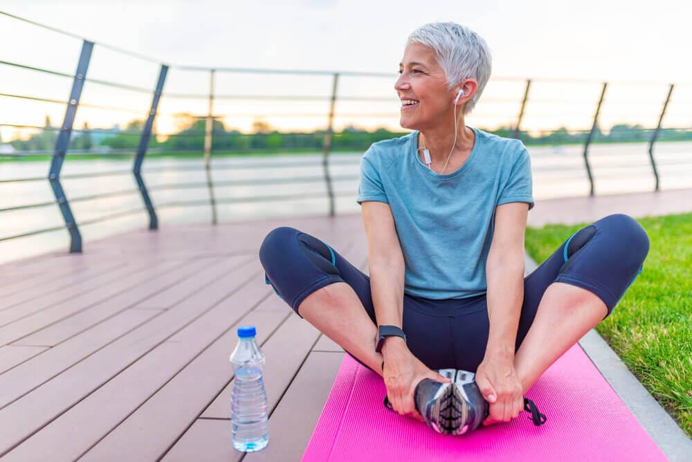Ejercicios ideales para mayores de cuarenta.