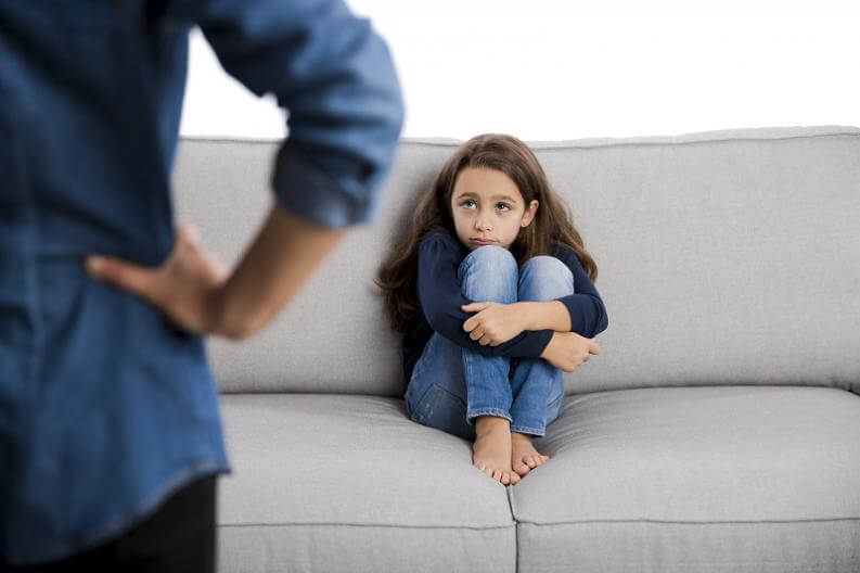 ¿Qué hacer cuando un niño se porta mal?