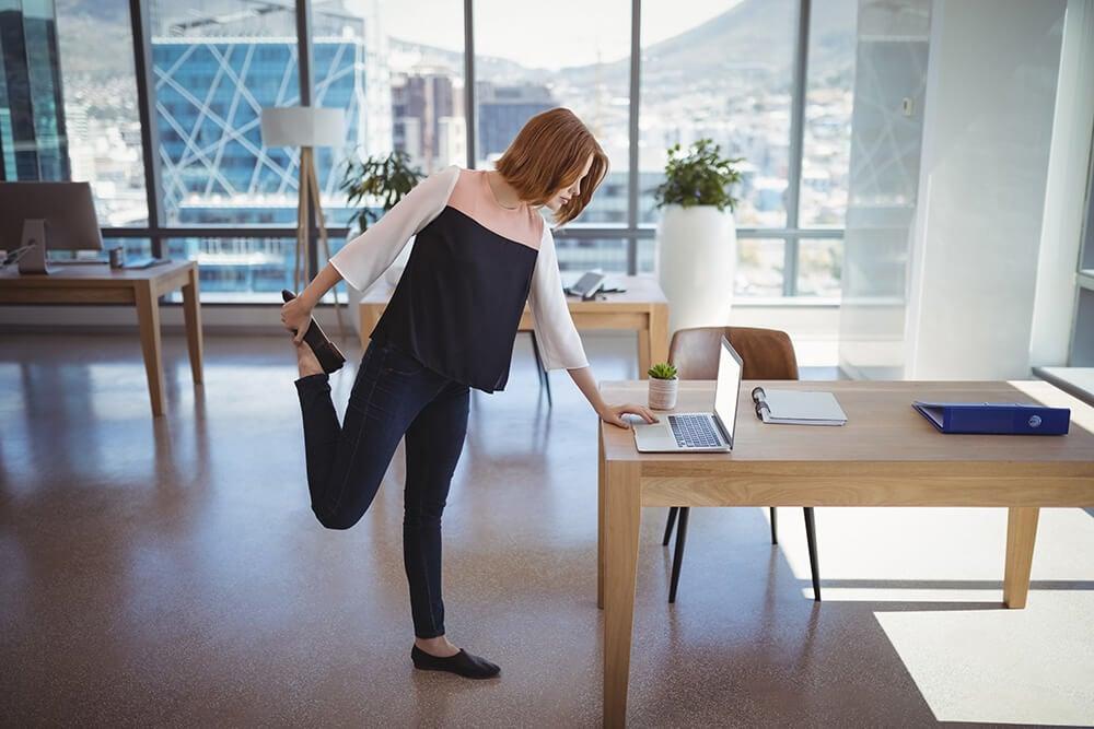 Las pausas activas en el trabajo