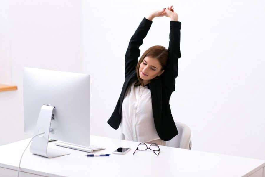 Pausas activas: ejercicios en el trabajo