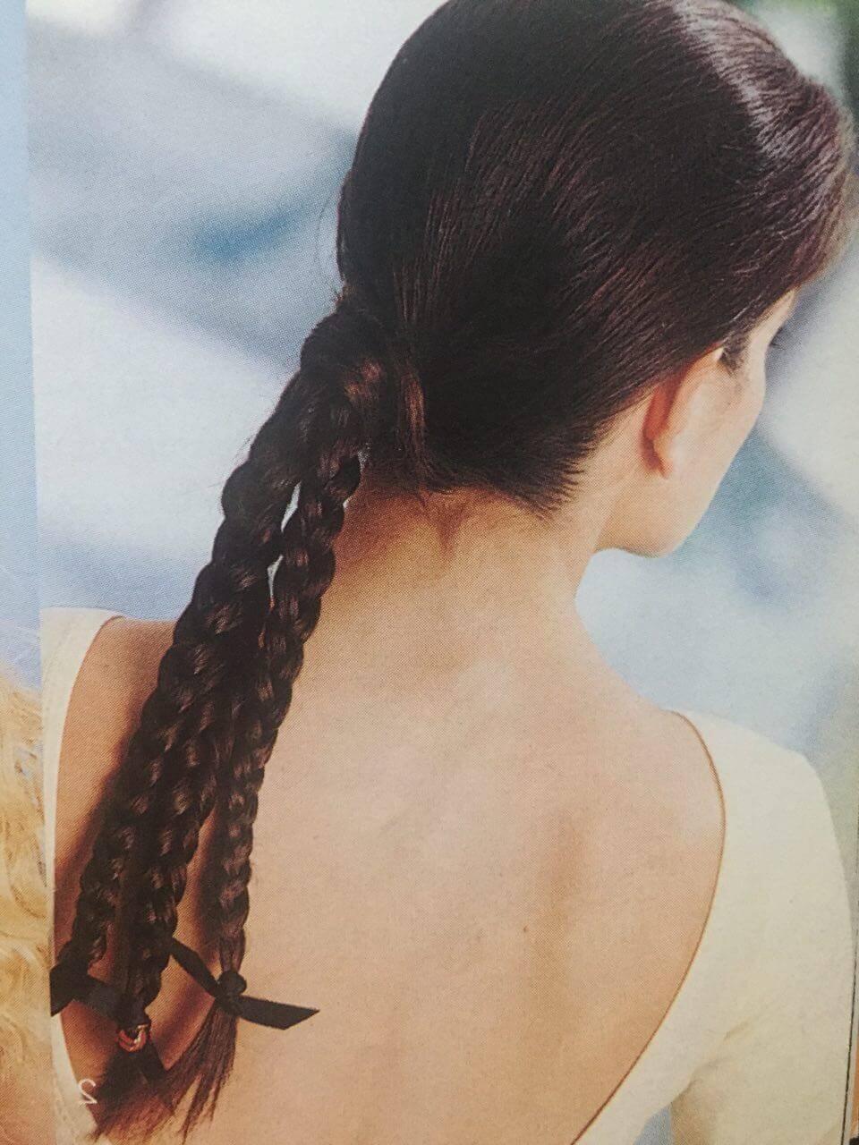Peinados con coletas elegantes.