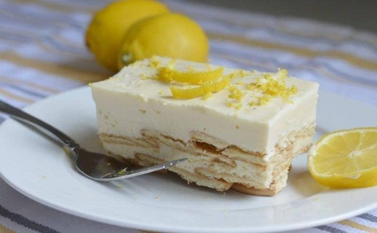 Un postre de palacio: La carlota de limón
