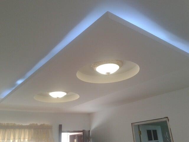 C mo decorar el cielo raso de manera moderna mejor con salud for Modelos de techos para galerias