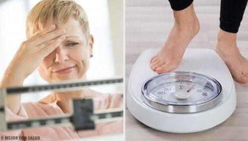 Alimentos para adelgazar en la menopausia