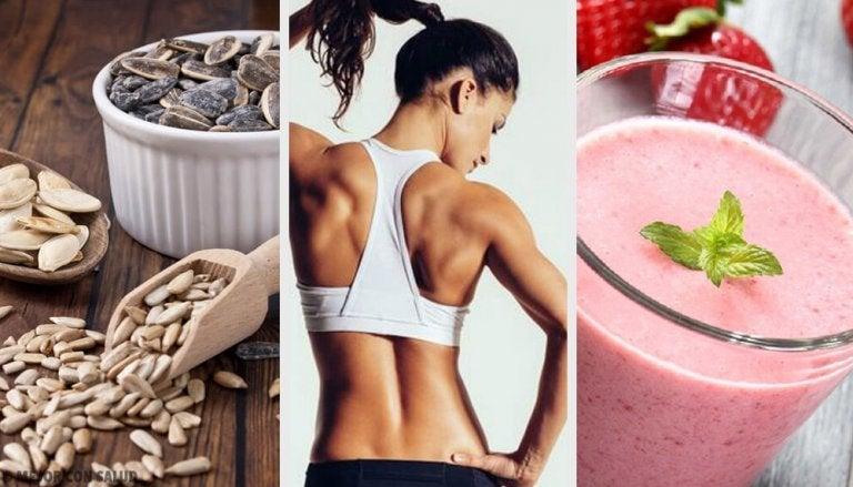 Gana músculo con esta dieta vegana