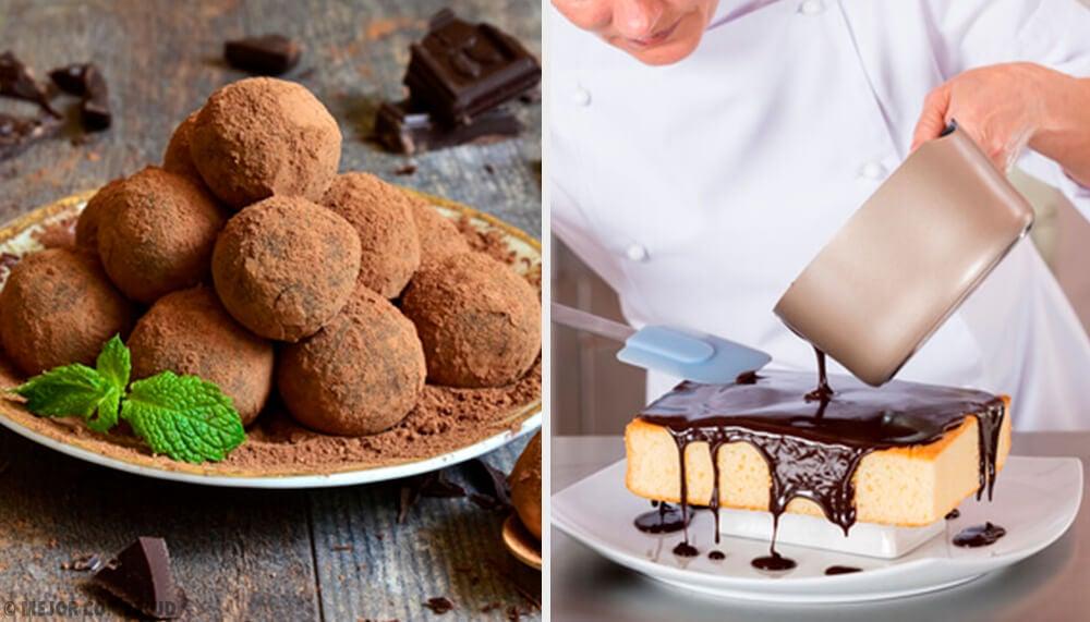 Receta fácil para preparar pastel de trufa