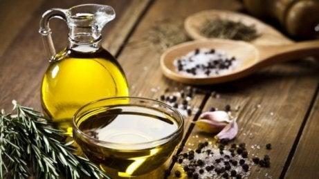 aceite de oliva para limpiar las arterias