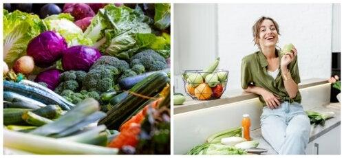 6 grandes ventajas de consumir verduras y frutas cada día