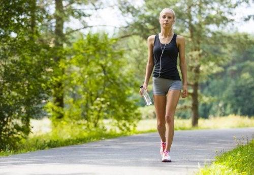 Beneficios de caminar.