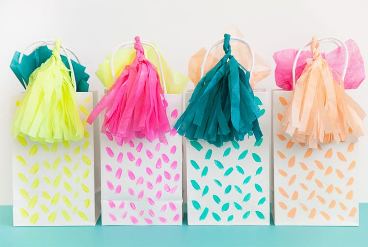 bolsa de regalo para bebe.