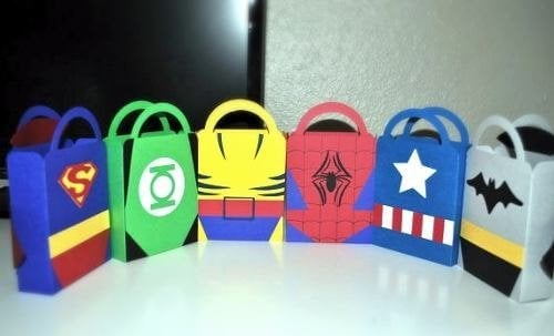 bolsa de regalo super heroe