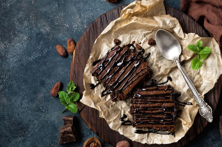 Recetas con café: Brownie con café.