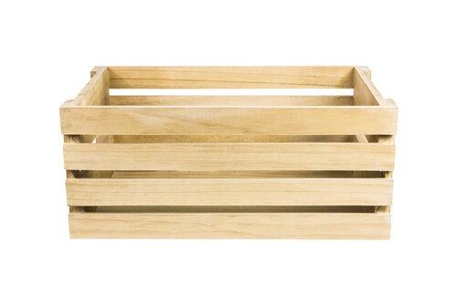 Las cajas de madera pueden tener muchos usos.