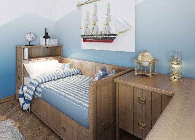 4 camas modulares perfectas para la habitación de los pequeños