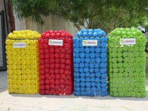 La basura puede reducirse si todos aprendemos a reciclar.