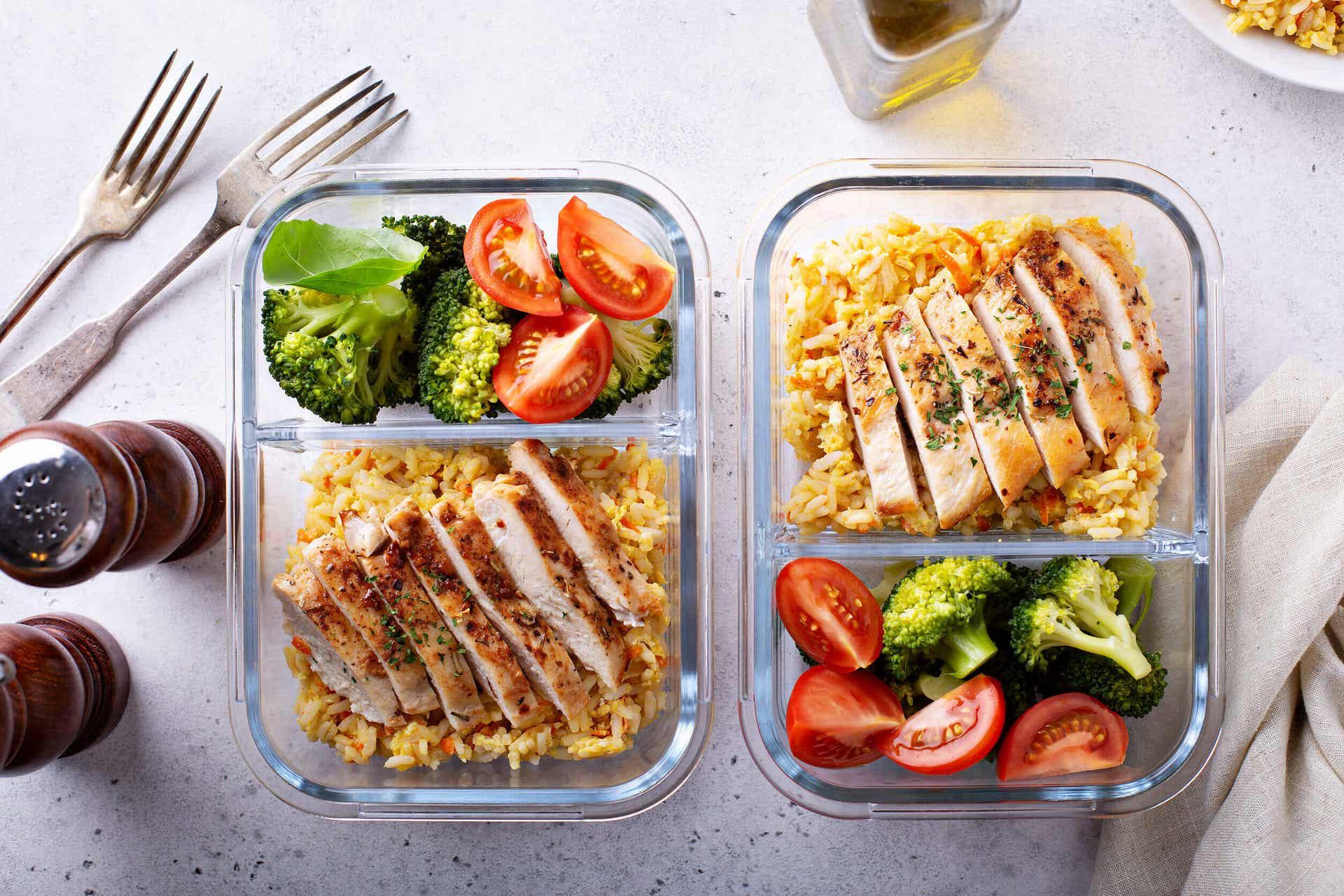 Comida casera en la alimentación para los pacientes con EPOC.