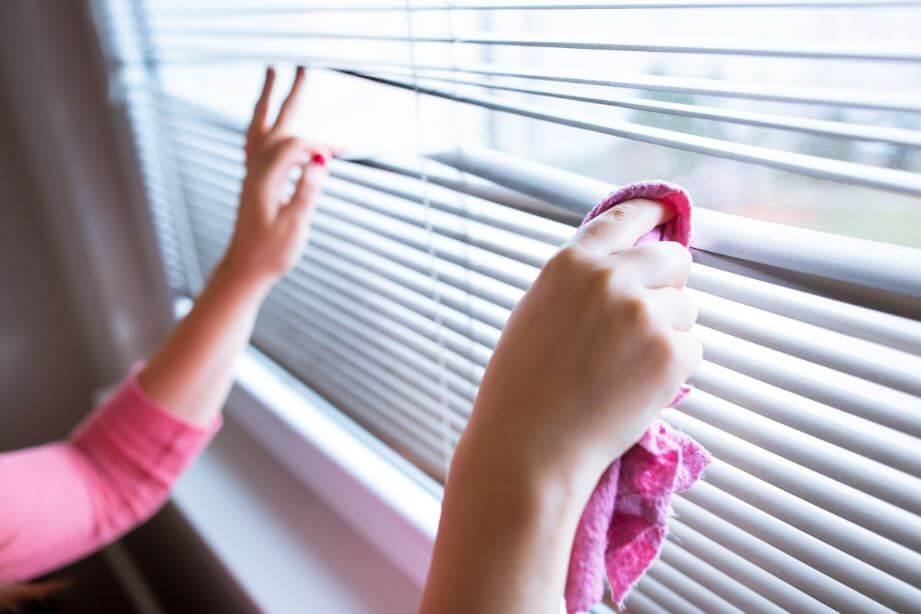 Cómo limpiar las persianas.