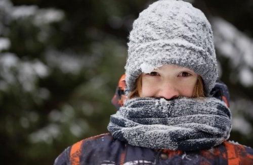 Consejos preventivos para la exposición al frío.