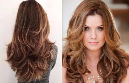 Corte de pelo con volumen mujer