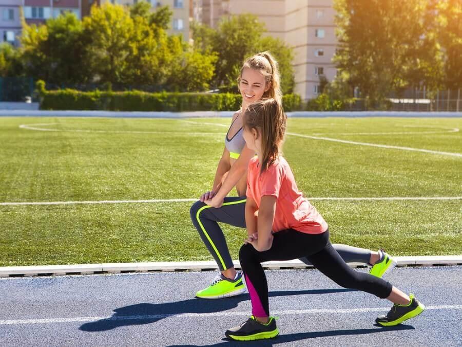 Es bueno realizar deporte diariamente.