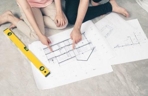 ¿Cómo elegir unos buenos planos para construir tu casa?