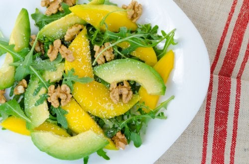 Ensalada de mango