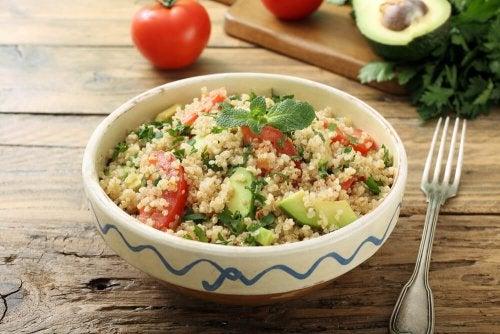 Ensaladas con quinoa