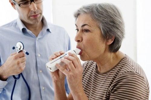 diferencia entre asma y EPOC