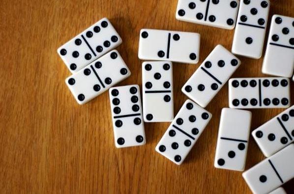 Fichas de dominó.