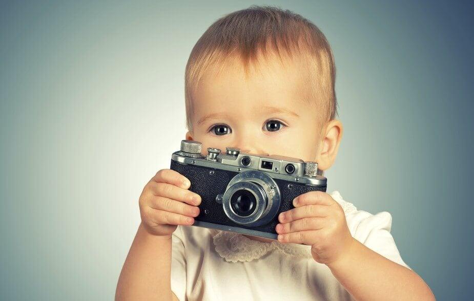 Fotos del primer cumpleaños de tu bebé.