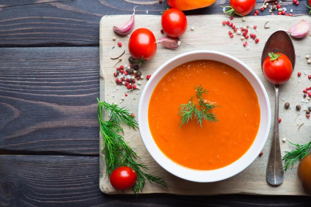 recetas saludables de gazpacho