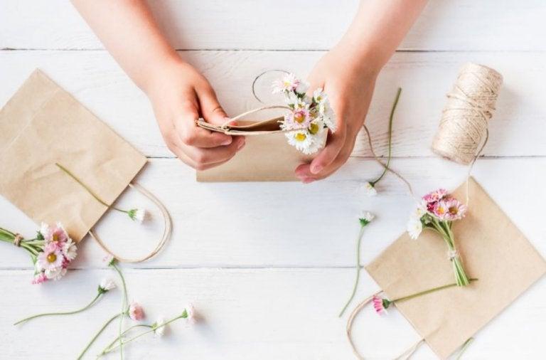 Haz tus propias bolsas de regalo para ocasiones especiales