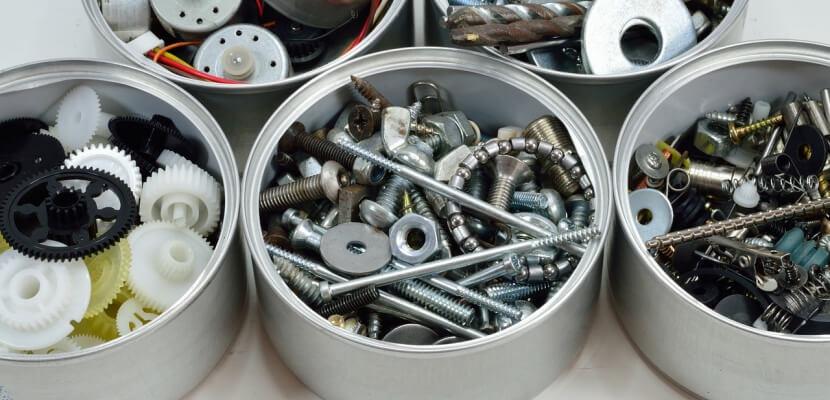 Existen numerosos tipos de herramientas.
