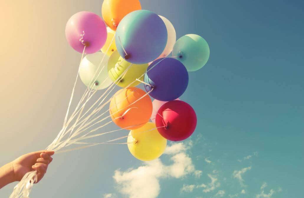 Ideas para decorar con globos.