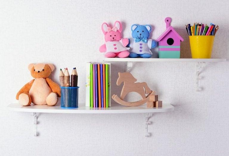 10 estanterías infantiles que te encantarán