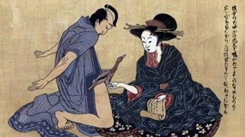El kokigami es un juego erótico oriental.