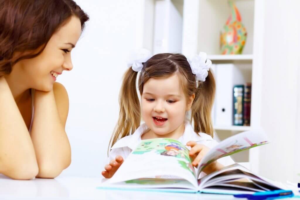 Lectura en los niños.
