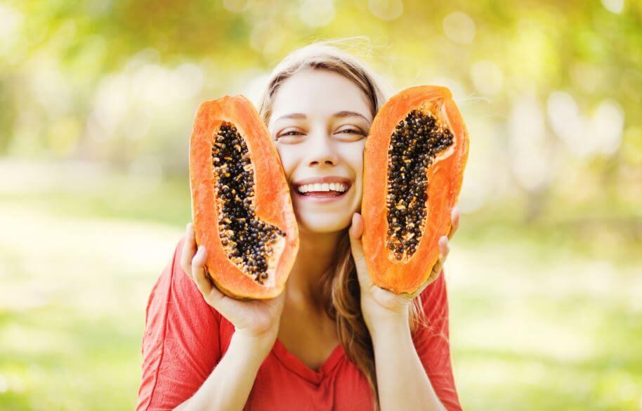 Los beneficios de la papaya.