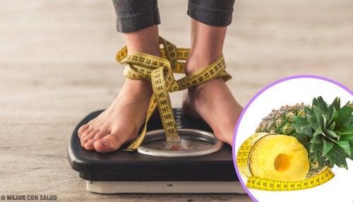 Los batidos de fruta te ayudan a perder peso progresivamente.