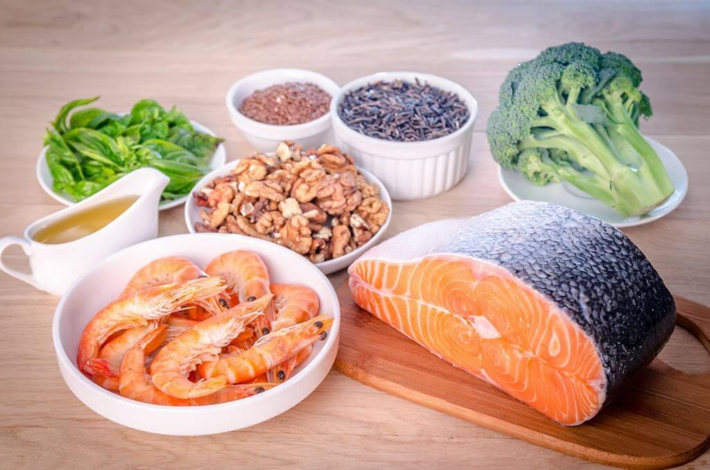 Alimentos ricos en omega-3.