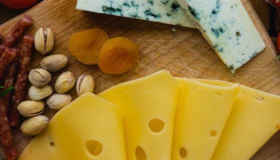 Pistachos y quesos, recetas de melocotón.
