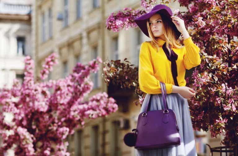 El significado de los colores en la forma de vestir